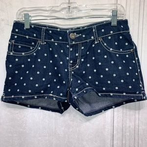 So Polka Dot Shorts Size 7